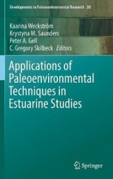 Omslag - Applications of Paleoenvironmental Techniques in Estuarine Studies