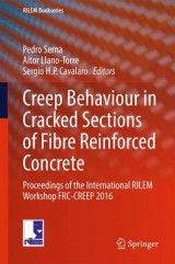 Omslag - Creep Behaviour in Cracked Sections of Fibre Reinforced Concrete 2017