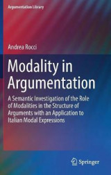 Omslag - Modality in Argumentation 2017