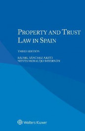 Property and Trust Law in Spain av Nieves Moralejo Imbernon og Rafael Sanchez Aristi (Heftet)