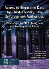 Access to Electronic Data by Third-Country Law Enforcement Authorities av Gloria Gonzalez Fuster og Valsamis Mitsilegas (Heftet)