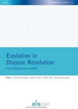 Omslag - Evolution in Dispute Resolution