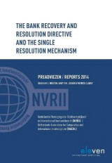 Omslag - The Bank Recovery and Resolution Directive and the Single Resolution Mechanism