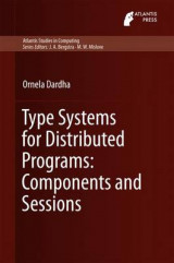 Omslag - Type Systems for Distributed Programs: Components and Sessions 2016