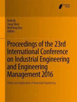 Omslag - Proceedings of the 23rd International Conference on Industrial Engineering and Engineering Management 2016