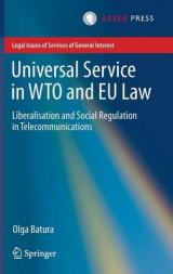 Omslag - Universal Service in WTO and EU Law 2016