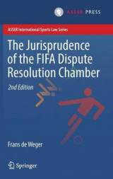 Omslag - The Jurisprudence of the FIFA Dispute Resolution Chamber 2017
