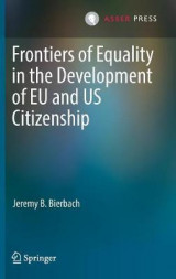 Omslag - Frontiers of Equality in the Development of EU and US Citizenship