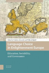 Omslag - Language Choice in Enlightenment Europe