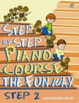 Omslag - Step by Step Piano Course the Fun Way: No. 2
