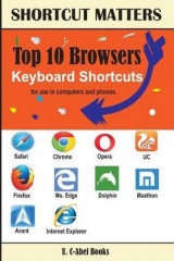 Omslag - Top 10 Browsers Keyboard Shortcuts