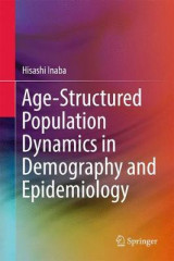 Omslag - Age-Structured Population Dynamics in Demography and Epidemiology 2017