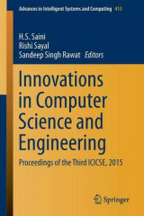 Omslag - Innovations in Computer Science and Engineering 2016