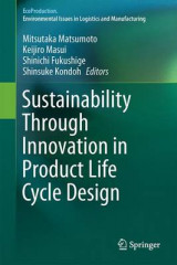 Omslag - Sustainability Through Innovation in Product Life Cycle Design 2016