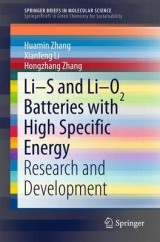 Omslag - Li-S and Li-O2 Batteries with High Specific Energy
