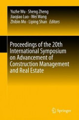 Omslag - Proceedings of the 20th International Symposium on Advancement of Construction Management and Real Estate