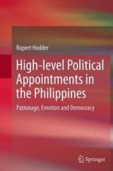 Omslag - High-Level Political Appointments in the Philippines