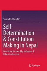 Omslag - Self-Determination & Constitution Making in Nepal