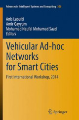 Omslag - Vehicular Ad-hoc Networks for Smart Cities