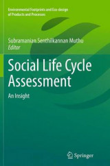 Omslag - Social Life Cycle Assessment