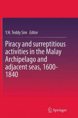 Omslag - Piracy and Surreptitious Activities in the Malay Archipelago and Adjacent Seas, 1600-1840