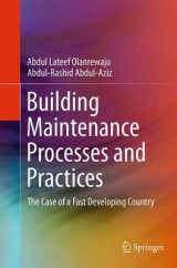 Omslag - Building Maintenance Processes and Practices