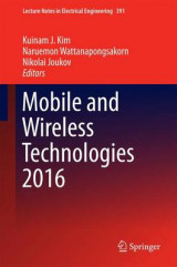 Omslag - Mobile and Wireless Technologies 2016