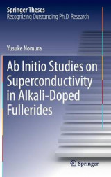 Omslag - Ab Initio Studies on Superconductivity in Alkali-Doped Fullerides 2017