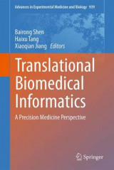 Omslag - Translational Biomedical Informatics 2016