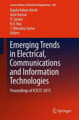 Omslag - Emerging Trends in Electrical, Communications and Information Technologies 2016