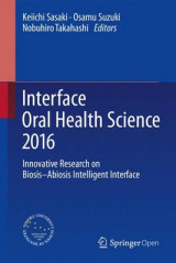 Omslag - Interface Oral Health Science 2016