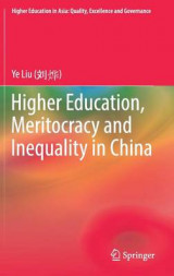 Omslag - Higher Education, Meritocracy and Inequality in China 2017