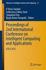 Omslag - Proceedings of 2nd International Conference on Intelligent Computing and Applications 2016
