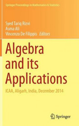 Omslag - Algebra and its Applications 2016