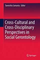 Omslag - Cross-Cultural and Cross-Disciplinary Perspectives in Social Gerontology 2017