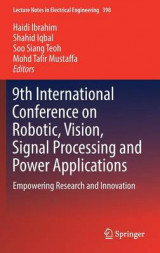 Omslag - 9th International Conference on Robotic, Vision, Signal Processing and Power Applications 2016