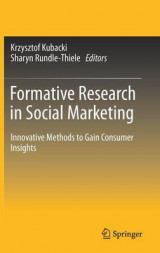 Omslag - Formative Research in Social Marketing 2017