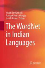Omslag - The Wordnet in Indian Languages 2016