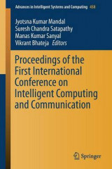 Omslag - Proceedings of the First International Conference on Intelligent Computing and Communication