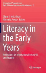 Omslag - Literacy in the Early Years