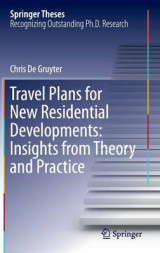 Omslag - Travel Plans for New Residential Developments: Insights from Theory and Practice 2017