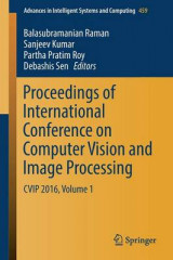 Omslag - Proceedings of International Conference on Computer Vision and Image Processing: Volume 1