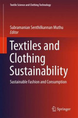 Omslag - Textiles and Clothing Sustainability