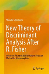 Omslag - New Theory of Discriminant Analysis After R. Fisher