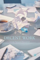 Omslag - Decent Work: Concept, Theory and Measurement