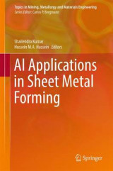 Omslag - AI Applications in Sheet Metal Forming