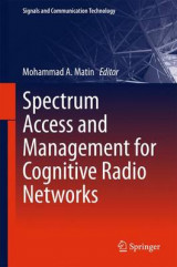 Omslag - Spectrum Access and Management for Cognitive Radio Networks