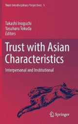 Omslag - Trust with Asian Characteristics