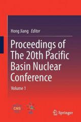 Omslag - Proceedings of the 20th Pacific Basin Nuclear Conference: Volume 1
