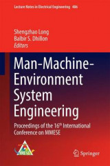 Omslag - Man-Machine-Environment System Engineering 2016